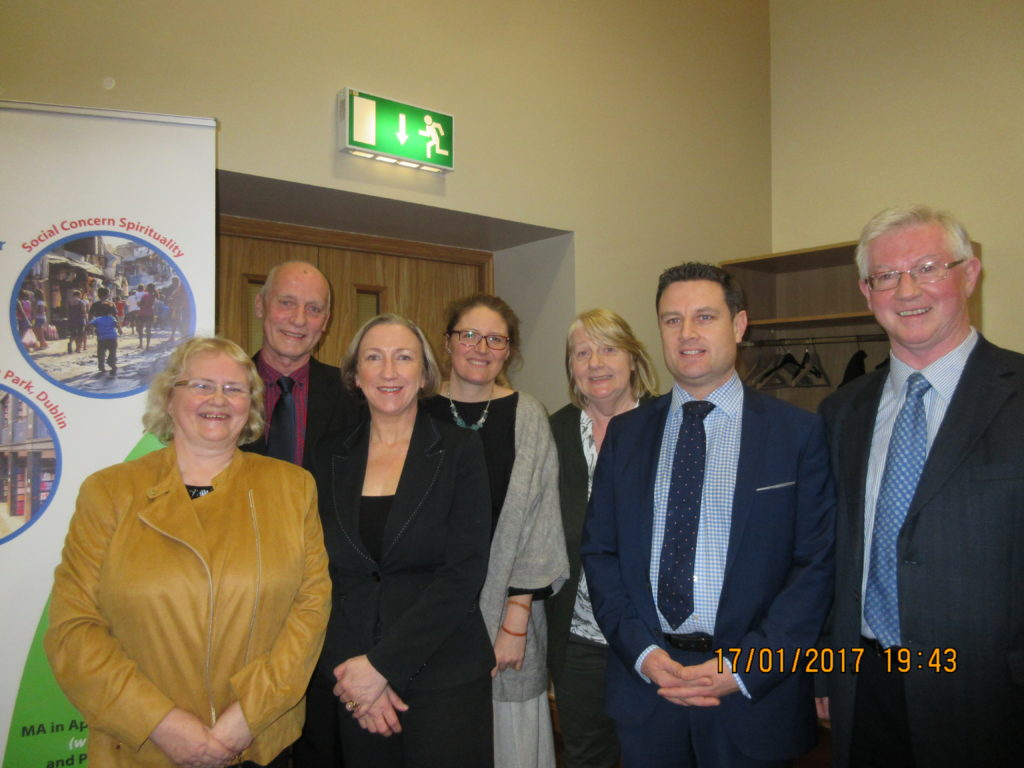 SpIRE Committee with Dr Crawley, 2nd from left